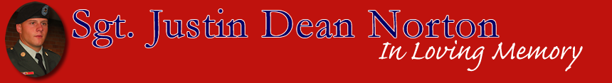 Sgt Justin Dean Norton
